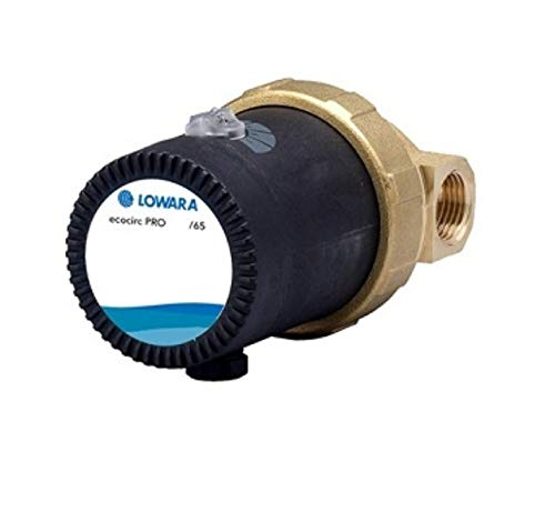 Lowara Hocheffizienzpumpe Zirkulationspumpe Brauchwasserpumpe PRO 3-9 Watt ecocirc