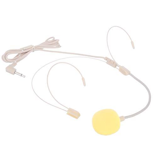 SANON Micrófono Lavalier de 2 Piezas Cable de Acero de Color de...