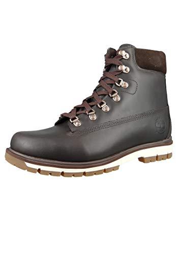 Timberland M Radford 6-Inch Waterproof Boot D-Ring Braun, Herren Primaloft Winterstiefel, Größe EU 46 - Farbe Black COF