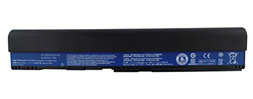 CYDZ Laptop battery 11.1V 5200mAh for Acer TravelMate B113 B113M B113-M Acer Aspire One 725 756 V5-171 Chromebook C7 C710 Aspire V5-171-6417 V5-171-53334G50ass V5-171-33216G50ass V5-171-32364G50ass AL12X32 AL12A31 AL12B31 AL12B32