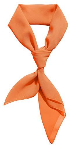 Fred Jones Costume Scooby Doo Adult Orange Scarf Ascot Bandana Neck Scarf Women Men