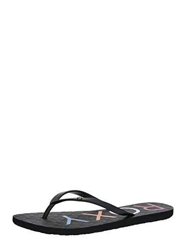 Roxy Sandy, Zapatos de Playa y Piscina para Mujer, Negro (Black Multi Bk5), 37 EU