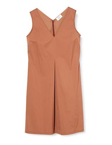 Vera Mont Damen 6023/4016 Kleid, Braun (Sienna 7207), (Herstellergröße: 38)