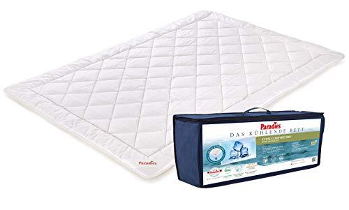 PARADIES – die aktive Kühldecke - Cool Comfort Bio Sommerdecke 135x200 cm - Öko-Tex Zertifiziert Standard 100 Klasse 1, medizinisch getestet