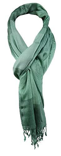 TigerTie sjaal in mintgroen