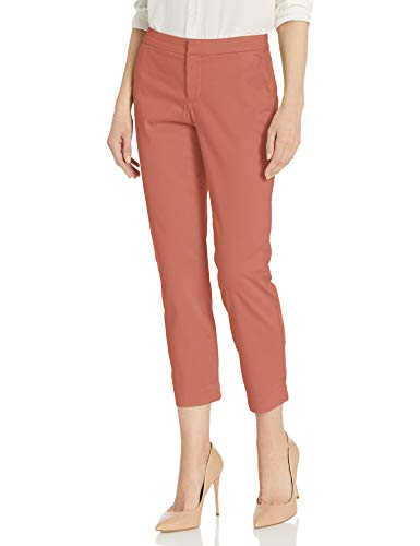 NYDJ Women's Everyday Trouser Pants, Canyon Clay, 6