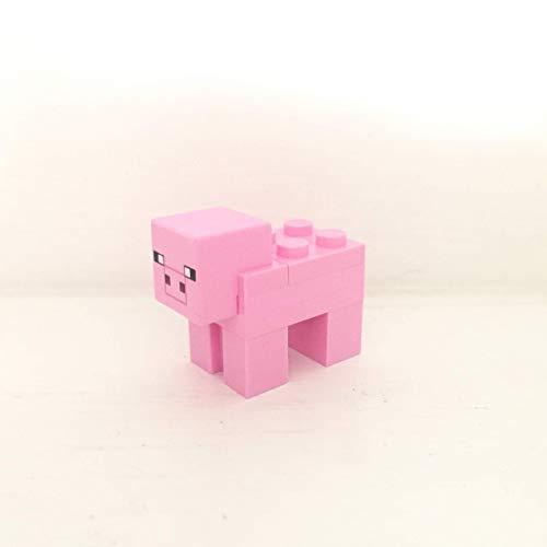 maisterkaio-de Lego Figur Schwein -- Minecraft -- (aus Set 21160, kompatibel mit Anderen Lego)