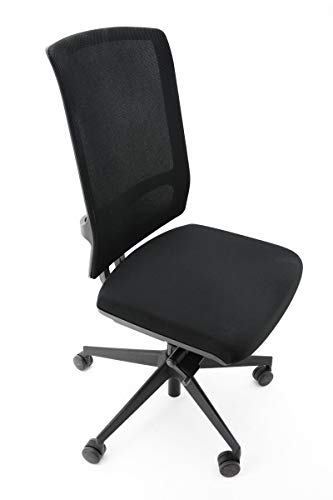Viasit Drehstuhl F1 - mit Netzrücken - Sitztieferverstellung