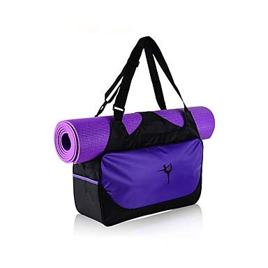 SUQING 20 L Yoga Mat Bag/Tote - Fitness, Yoga, Bikram Large Capacity, Waterproof, Lightweight Canvas Leder, Oxford Tuch, Eco-Friendly Green, Pink, Fuchsia, Lila