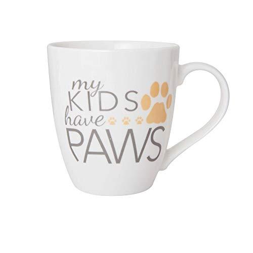 Pfaltzgraff My Kids Have Paws Large Dog Lover Coffee Mug - 18 Ounces