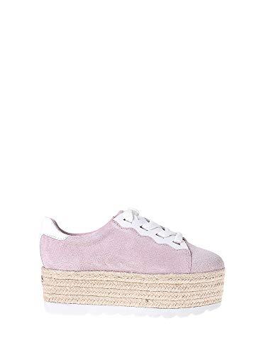 Guess Gabrial/Derby/Suede, Zapatos con Plataforma Mujer