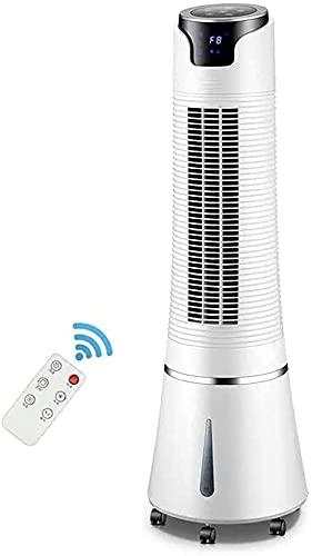 LSWY Ventilador de Torre con 3 velocidades, Ventilador eléctrico oscilando. Control de Remote.Tranquilo.3 Modos.Pantalla Timer.LED 8 Horas