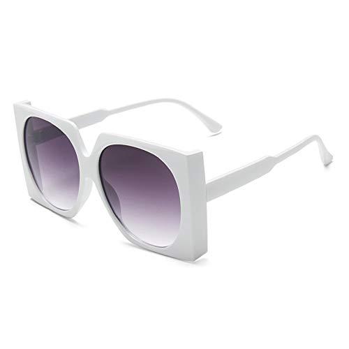 NBJSL Gafas De Sol Para Mujer Gafas De Sol Cuadradas De Gran Tamaño De Moda (Caja De Embalaje Exquisita)