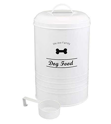 Contenedor de comida para perros – Pet Good Dog Food Canister, capacidad de 4 libras – cuchara incluida