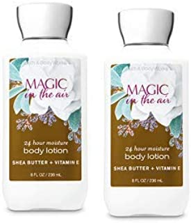 Bath and Body Works 2 Pack Magic in the Air Super Smooth Body Lotion 8 Oz