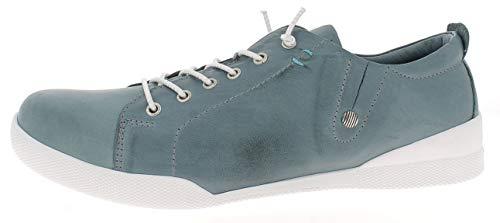Andrea Conti Damen 0345724 Sneaker, Größe:37 EU, Farbe:Petrol