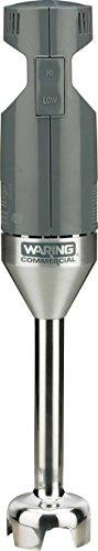 Gastroback 40229 Waring Light-Duty Quik Stik Mixstab, Stabmixer, 175 Watt Hochleistungsmotor, 2 Stufen, Edelstahl