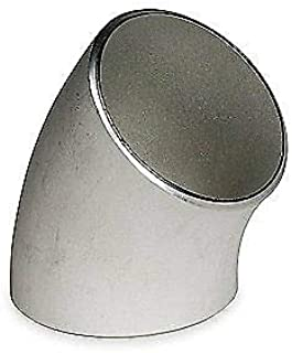 Elbow,45 Deg,1 in,304L Stainless Steel, S2044F 010 SMITH-COOPER