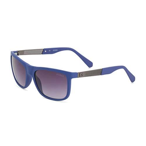 Guess GU6843 Gafas de sol, Azul (blue,black), 52 Unisex Adulto