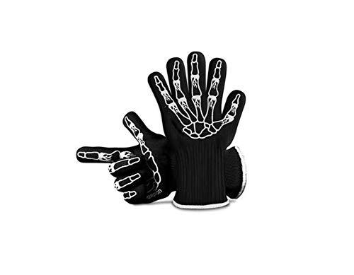 HAOGUO Handschoenen, Dikke Hoge Temperatuurbestendige Handschoenen, Magnetron Oven, Brood, Isolatie, Bakken, Antikalking, Vijf Vingers, Flexibel