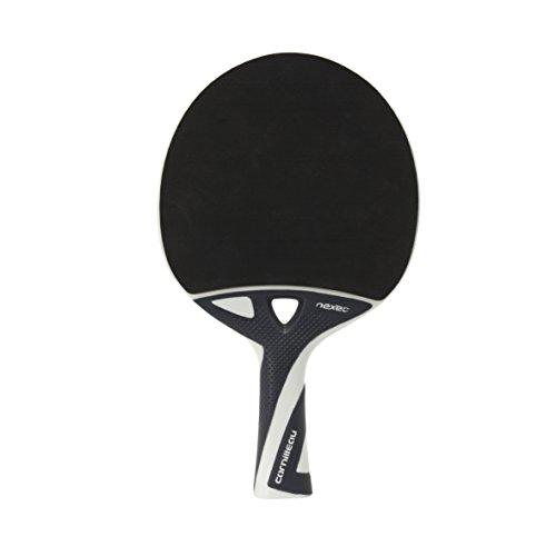 Cornilleau Unisex-Erwachsene Nexeo 70 Outdoor Tischtennisschläger, schwarz/weiß