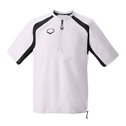 EvoShield Adult Pro Team BP Jacket, Team White - Large