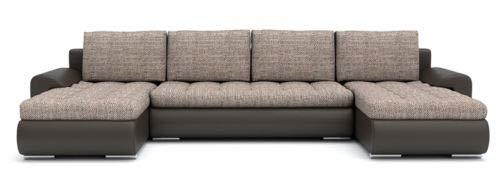 Sofini Ecksofa Tokio III mit Schlaffunktion! Best ECKSOFA! Couch mit Bettkästen! (Lawa 2+ Soft 66)
