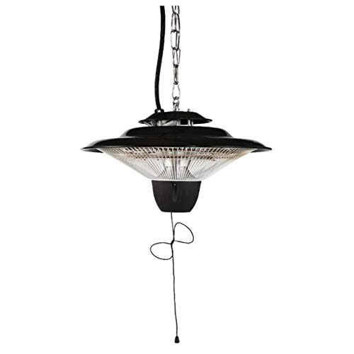 CAREXY Hanging Patio Heater, Ceiling Mounted Heater 2500W Infrared Quartz Tube Garden Electric Outdoor Patio Heater