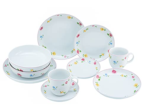 Creatable, 22900 Allround-Sümmertime - Vajilla (10 piezas, porcelana)