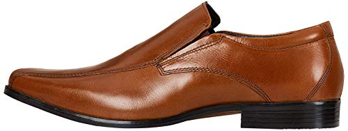 Amazon Brand - find. Men's Loafers, Brown (Napa Tan), 9 UK