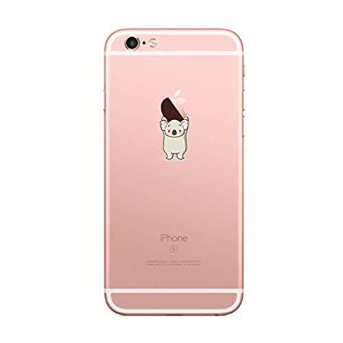 AIsoar Coque iPhone 6/ 6S,Ultra Flex Series Housse de Protection Souple avec Protection Flexible et Crystal TPU Premium pour iPhone 6/ 6S [Très Légère/Ajustement Parfait/Mince] (Koala)