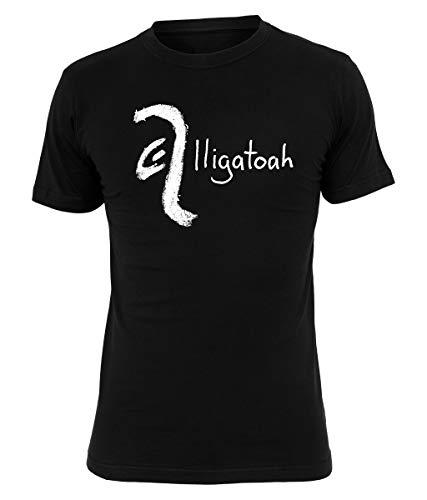 Alligatoah T-Shirt Crayon Logo, Farbe:schwarz, Größe:S
