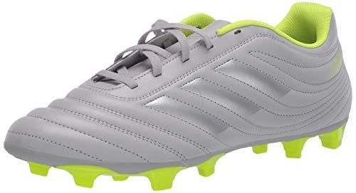 adidas Men's COPA 20.4 FG Football Shoe, Grey two/Matte silver/solar Yellow, 9 Standard US Width US