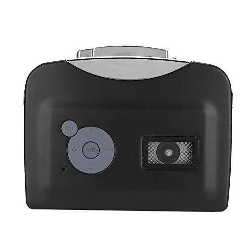 Tape to MP3 Converter Kassettenspieler, Tragbarer Kassettenspieler Kassette Player, USB Bandkonverter Kassettenrekorder mit WAV, MP3 Aufnahmemodus