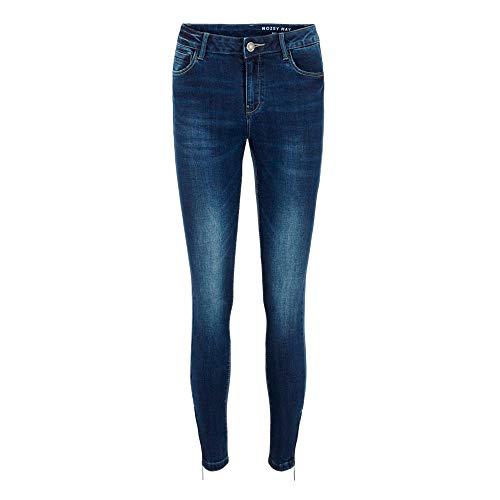 Noisy may Female Skinny Fit Jeans NMKIMMY Cropped Normal Waist 3030Dark Blue Denim