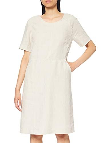 Noa Noa Womens Essential Casual Dress, Natural Linen, 38