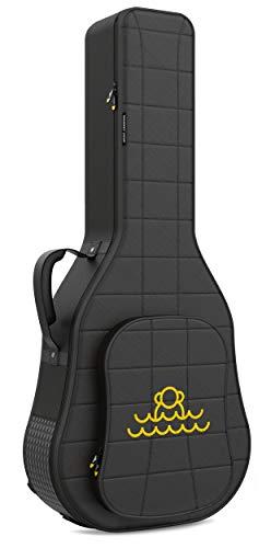 Monkey Loop - Rocking Classic - Funda para Guitarra Clásica - Dimensiones 45 x 108 x 18 cm - Color Negro - Acolchada - Alta Calidad - Protección Superior - Asa Reforzada - Resistente al Agua
