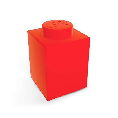 Lego - Lámpara ladrillo Lego 1x1 Rojo