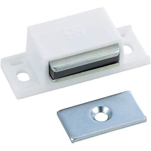 トラスコ TRUSCO マグネットキャッチ樹脂製 白 TSM10PW_6600