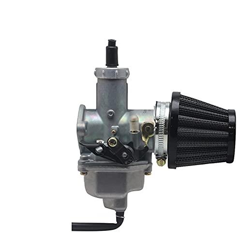 Motocicleta Carburador Auto/Cable Choke Palanca y Filtro de Aire para 150-300cc Pit Dirt Bike ATV Scooter Motores de ciclomotor PZ26 PZ27 PZ30 Carburador (Color : PZ30)