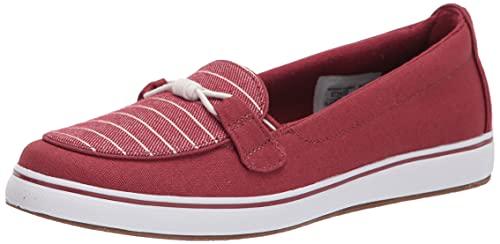 Grasshoppers Women's Walden Sneaker, RED, 8.5