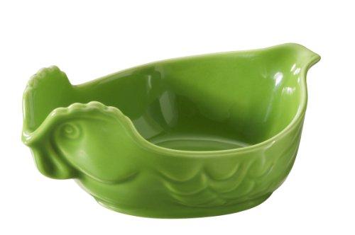 Revol 641849 Plat à Four Volaille Petite Modèle Porcelaine Vert Lime 15,1 x 10,5 x 6 cm