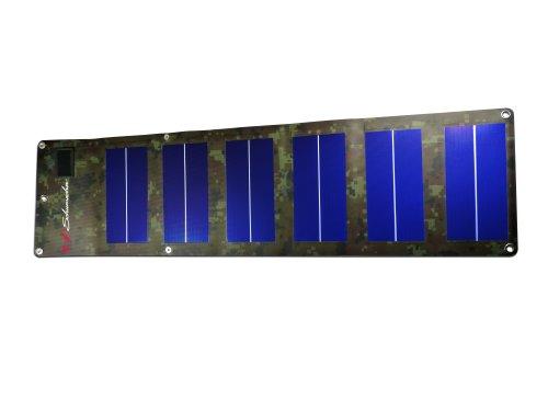 Save %59 Now! Schumacher SP-600 6W Foldable Camo Solar Charger