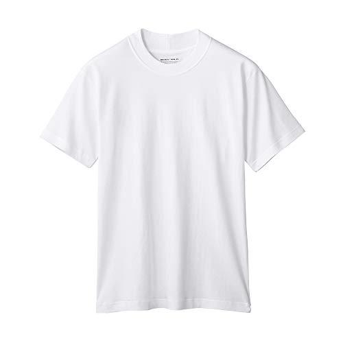 [ボディワイルド] Tシャツ 半袖 クルーネック ドレスT ジャケット対応Tシャツ 襟部分が高くジャケットの皮...