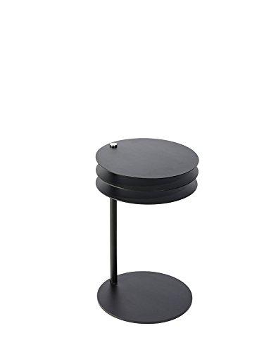 Pieperconcept MOLINO Beistelltisch, Stahl pulverbeschichtet schwarz