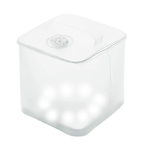 Brilex Solar Linterna Camping, Lámpara Colgante Camping Portátil Luces con 4 Modos de Iluminación, Niveles Impermeables IP67, Linterna Inflable Accionada Solar, Luz que Lleva Fácil Ligera