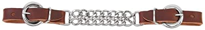 Weaver Leather Double Flat Link Chain Curb Strap Sunset, 4 1/2-Inch by Weaver Leather, LLC