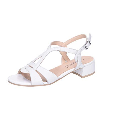 CAPRICE Atmosphere Womens Dress Sandals 6.5 UK/40 EU Weißnappa