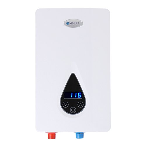 240V Electric Digital On Demand Tankless Water Heater - Marey ECO110