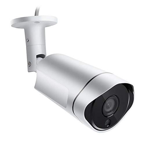 Cámara de vigilancia AHD, IP66 a prueba de agua, visión nocturna por infrarrojos, cámara CCTV analógica de 2.0 MP para exteriores / interiores, reducción de ruido digital 3D, salida de alta definición